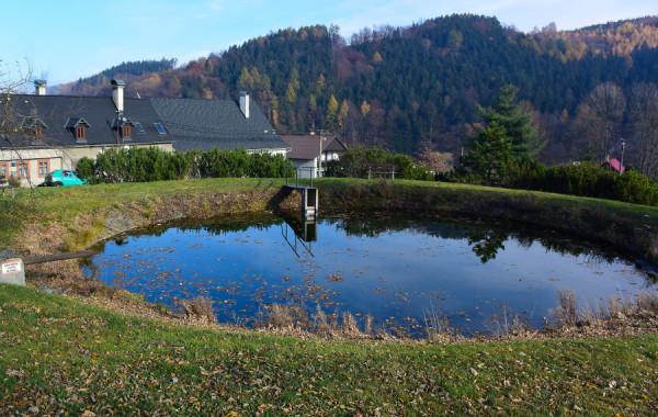 Oprava vodní nádrže Andělská Hora u Chrastavy